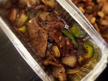 Beef in Black Bean Sauce with Green Pepper