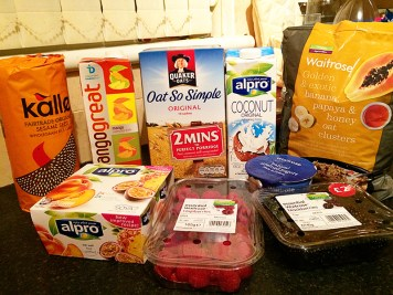 Ananyah- Waitrose Healthy Food Swaps- Breakfast Snacks
