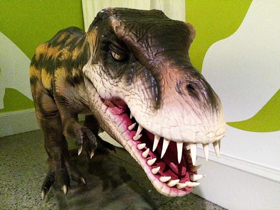 Ananyah- Hatching the Patch- Kelvingrove- Dinosaur Model