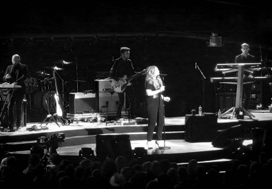 Ella Henderson on Stage- Take That Support Act Glasgow 2nd May 2015.JPG