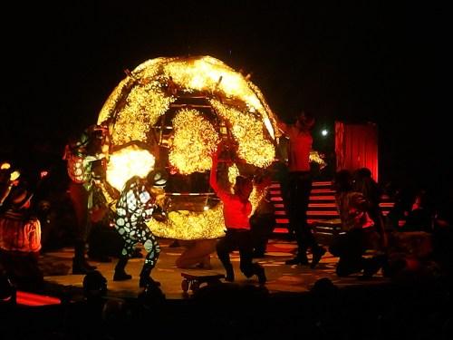 Take That Glasgow 2nd May 2015- Circus Act