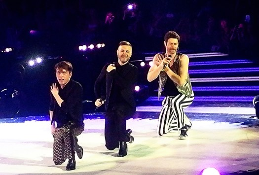Take That Glasgow 2nd May 2015- Dance Moves