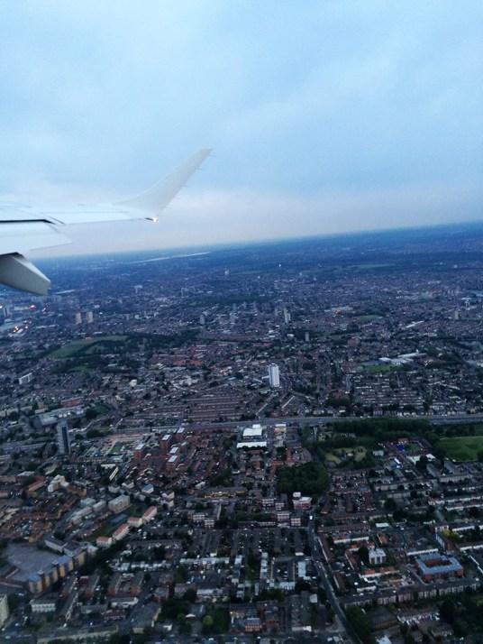 72 hours in London- London Skyline