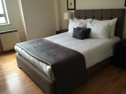 72 hours in London- Smart City Apartment City Road Main Bedroom