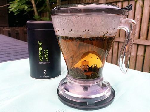 The Tea Makers London- Peppermint Tea Teapot