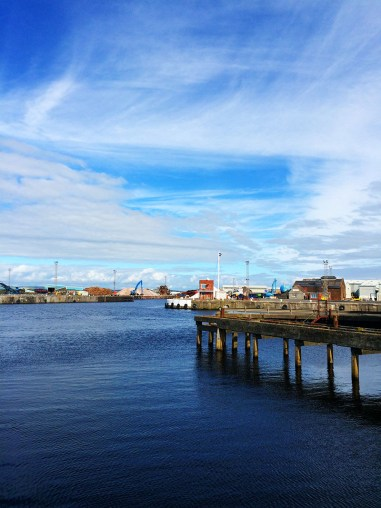 Ananyah- Road Trip Adventures- Ayr Harbour Waterfront