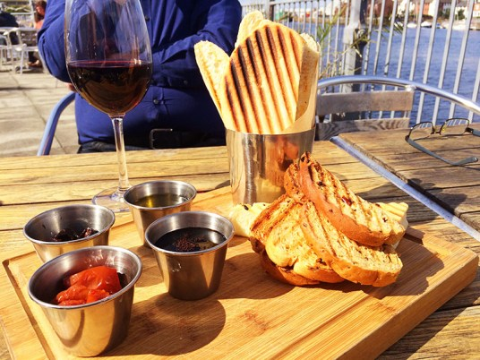 Ananyah- Road Trip Adventures- The Waterfront Bread Board for 1