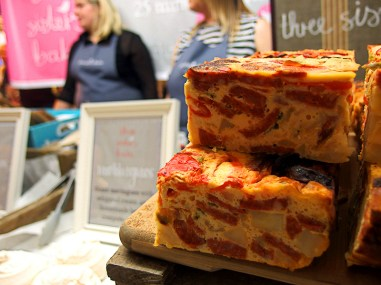 BBC Good Food Show Scotland 2015- Three Sisters Bake Frittata