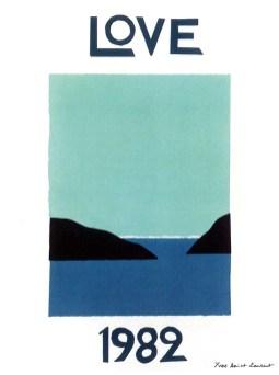 Majorelle Garden - Yves Saint Laurent- Love 1982