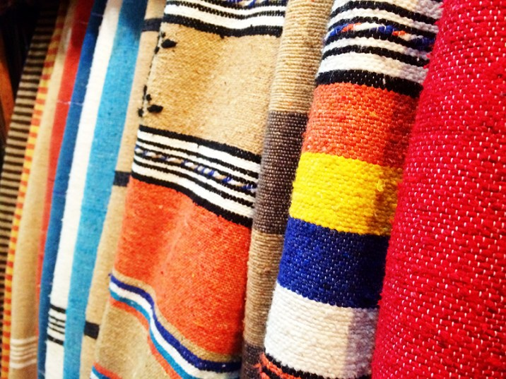 Ananyah- Marrakech Souk- Colourful Rugs
