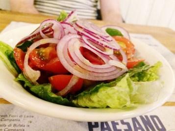 Ananyah- Paesano Pizza- Mixed Salad
