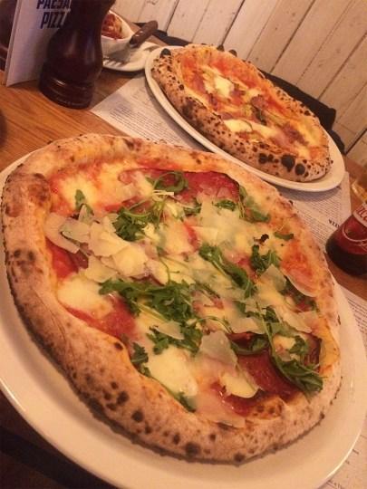 Ananyah- Paesano Pizza