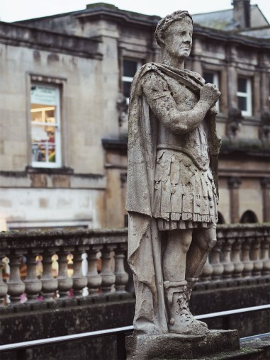 Exploring The Roman Baths- Roman Statue