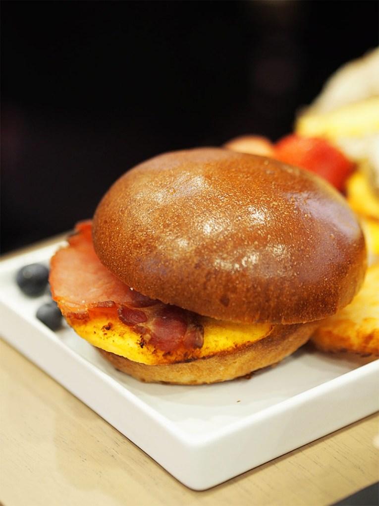 Tim Hortons Glasgow UK- Breakfast Sandwich