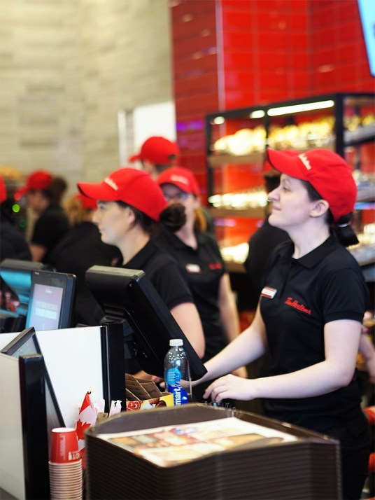 Tim Hortons Glasgow UK- Glasgow Staff