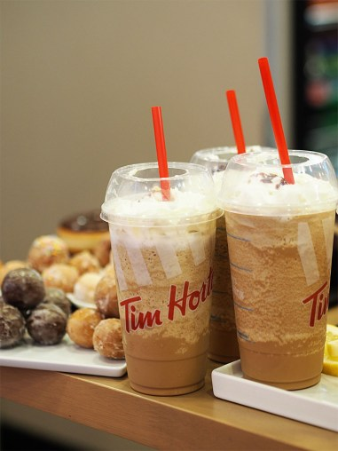 Tim Hortons Glasgow UK- Iced Capp