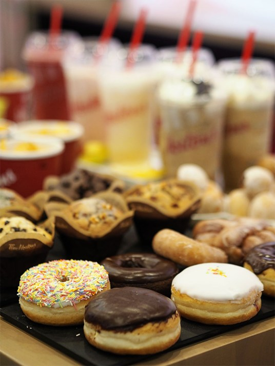 Tim Hortons Glasgow UK- Muffins and Donuts