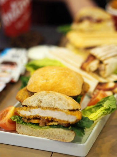 Tim Hortons Glasgow UK- Sandwiches