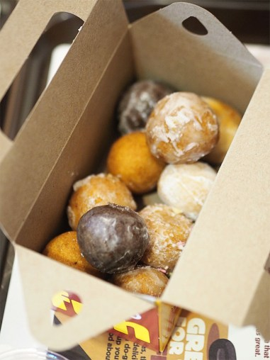 Tim Hortons Glasgow UK- Timbits