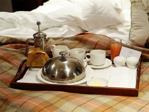 MacDonald Forest Hills Hotel & Spa- Breakfast in Bed