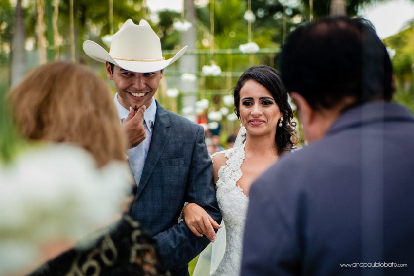 cowboy getting married in a country wedding