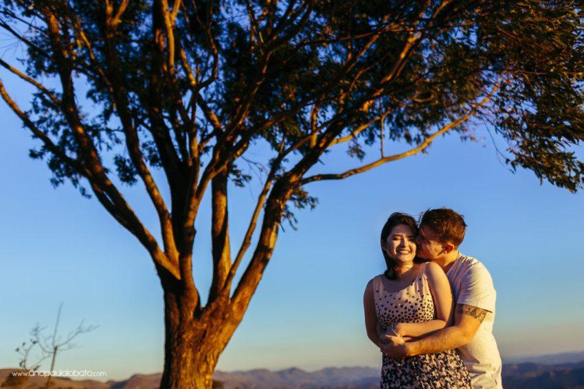 Sunset engagement photo inspiration