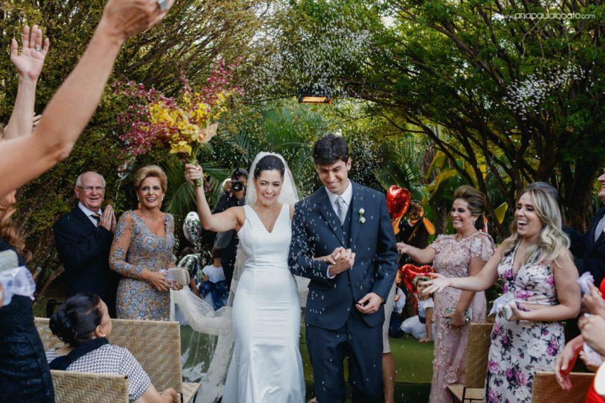 ceremony of a inspiring summer wedding