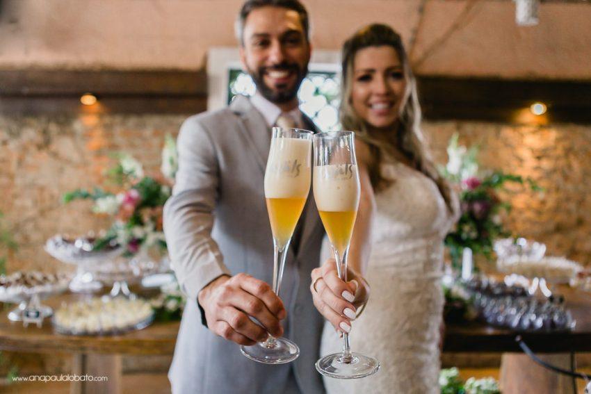 creative wedding toast with beer