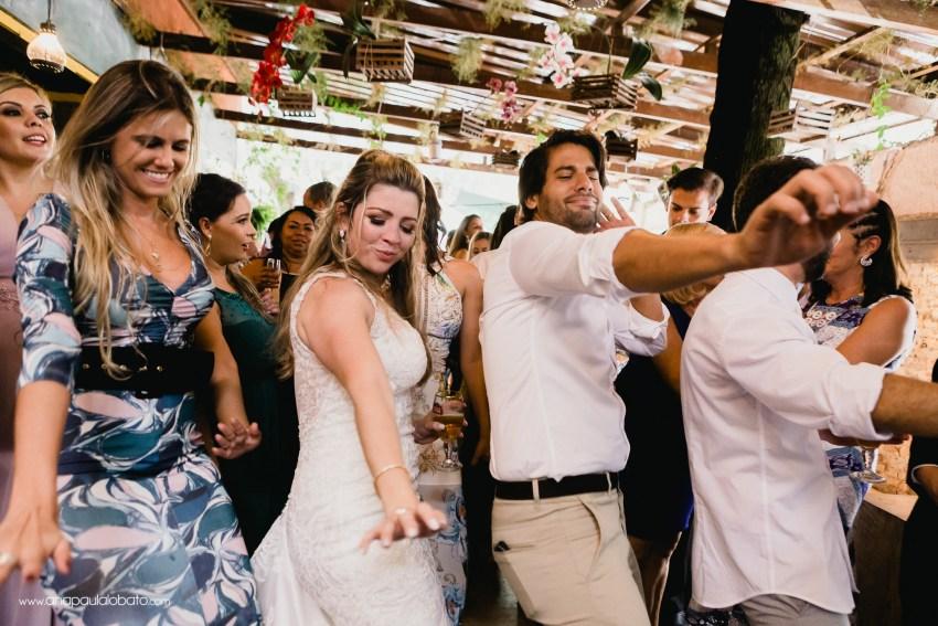 dancing fun wedding