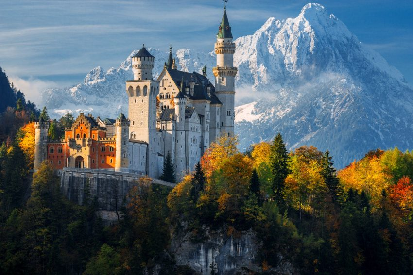 beautiful castles for destination wedding in Germany