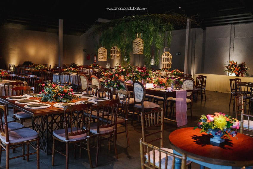 inspiring decoration for gorgeous sunset wedding in Brazil