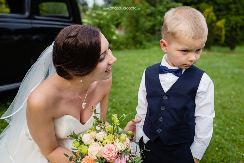 funny kid in Incredible wedding in Esslingen