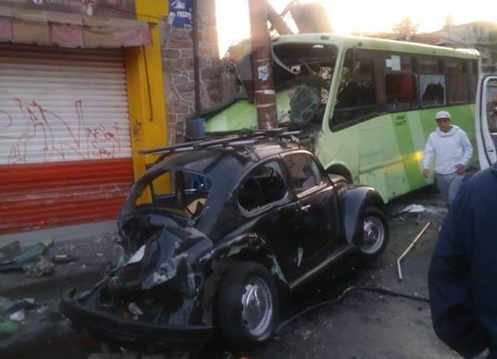 Al Menos 33 Heridos Por Choque En La Ciudad De Mxico