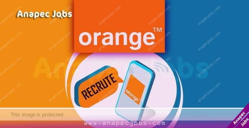 orange recrute maroc