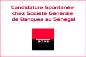 candidature spontanée société générale - SGBCI