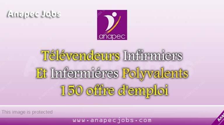 Télévendeurs Infirmiers Et Infermiéres Polyvalents 150 offre d'emploi