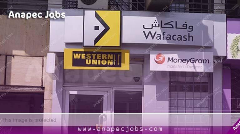 Wafacash recrute حوالي 5000 منصب بوكالات وفاكاش