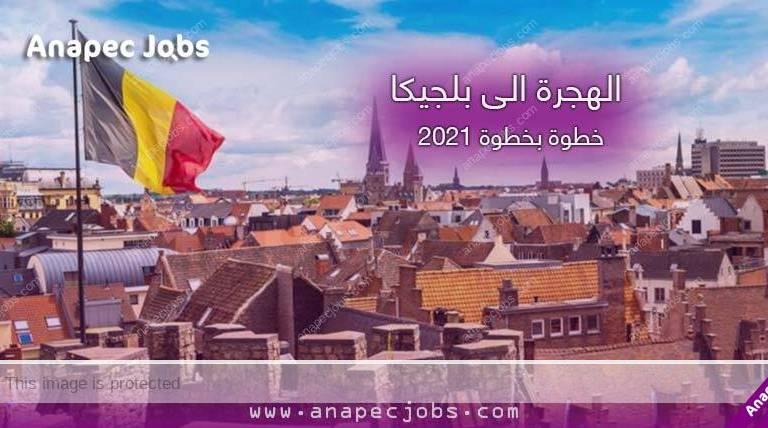 الهجرة الى بلجيكا خطوة بخطوة 2021
