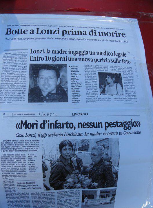 Il caso di Marcello Lonzi morto nel carcere di Livorno