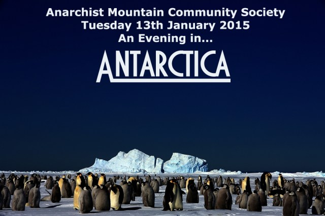Notice of Talk - Antartica