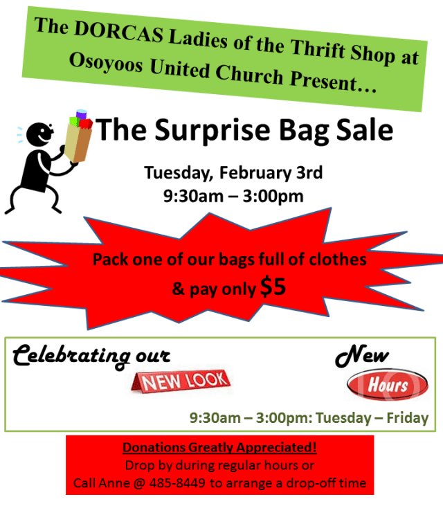 The Bag Sale - Feb 2015