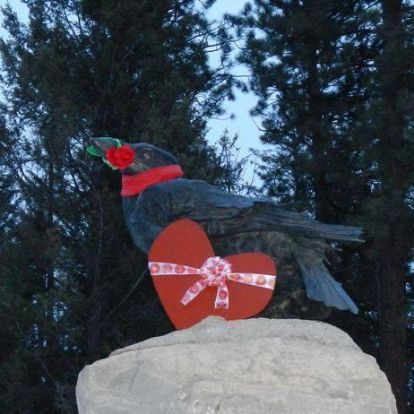 Valentines Raven