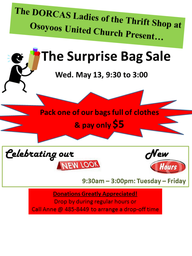 The Bag Sale May 2015