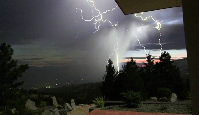 lightening show june 27