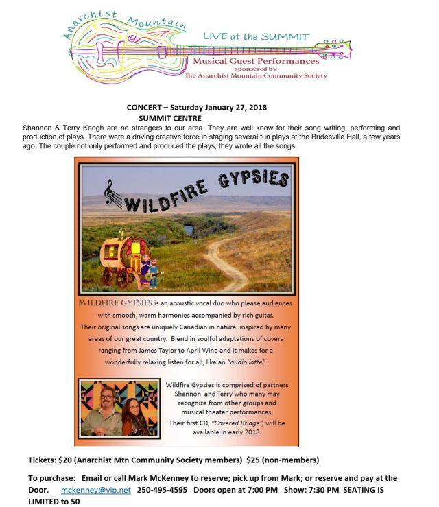 Wildfire Gypsies