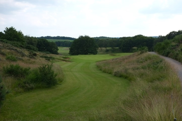 The view from the start of the 13th fairway.