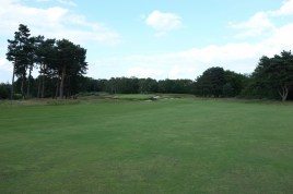 The view from the first landing area at the 8th fairway.