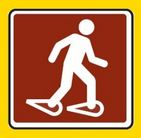 Snow shoe only on XC trails if not skiing