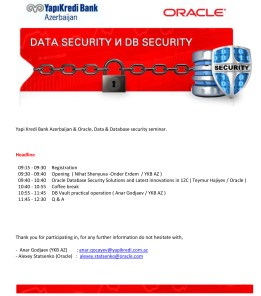 Ajanda_DB_Security_Solution