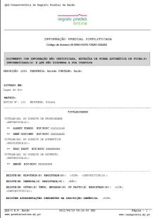 Exemplo Certidão Permanente do Registo Predial